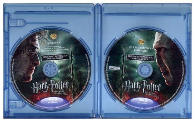 """Blu-ray de """"HARRY POTTER y las Reliquias de la Muerte - parte 2"""""""