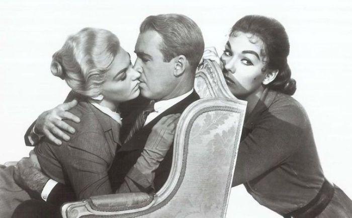 """Protagonistas de """"Vértigo"""" (1958)"""