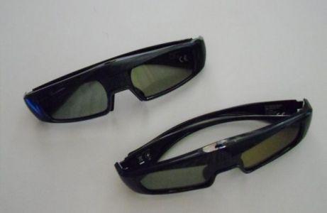 Pareja de gafas activas 3D incluidas en el televisor PANASONIC SMART-VIERA TX-L47WT50E
