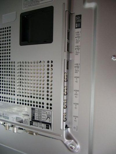 4 tomas HDMI v1.4 en el televisor Panasonic VIERA TX-L47WT50E