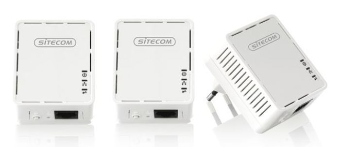 SITECOM LN-540 Mini Homeplug 500 Mbps Triple Pack