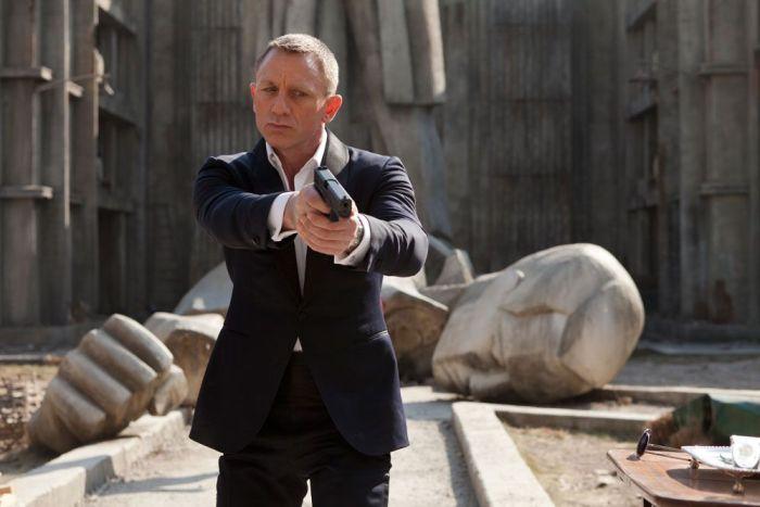 Daniel Craig en SKYFALL (2012)
