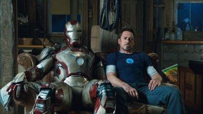 "Robert Downey JR. es Tony Stark en ""Iron Man 3"" (2013)"