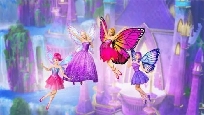 Barbie: Mariposa & the Fairy Princess (2013)