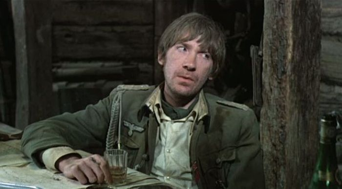 "David Warner en ""La Cruz de Hierro"" (1977)"