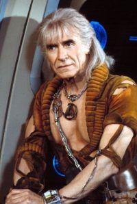"""Ricardo Moltalbán es Khan para """"Star Trek la ira de Khan"""" (1982)"""
