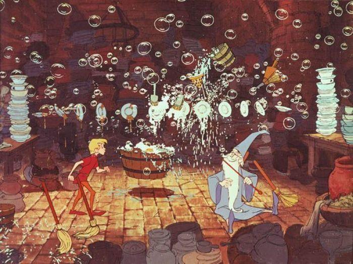 """MERLÍN EL ENCANTADOR """"Blu-Ray Disney 50 Aniversario"""""""