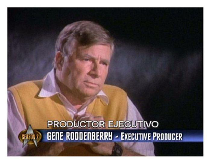 Gene Roddenberry (creador del universo Star Trek)