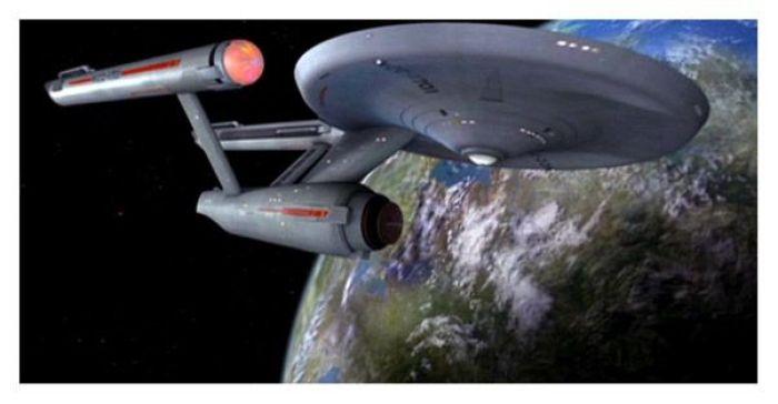 "Nave Enterprise ""restaurada"" en Star Trek La Serie Original"