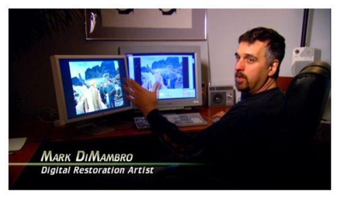 Proceso de restauración digital para Star Trek La Serie Original