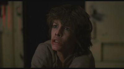 """Jamie Lee Curtis en """"El tren del terror"""" (1980)"""
