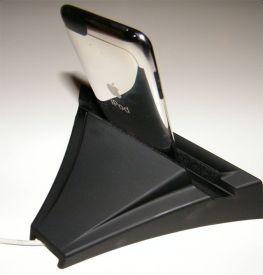 parte trasera del soporte independiente para iPod. Klipsch Stadium