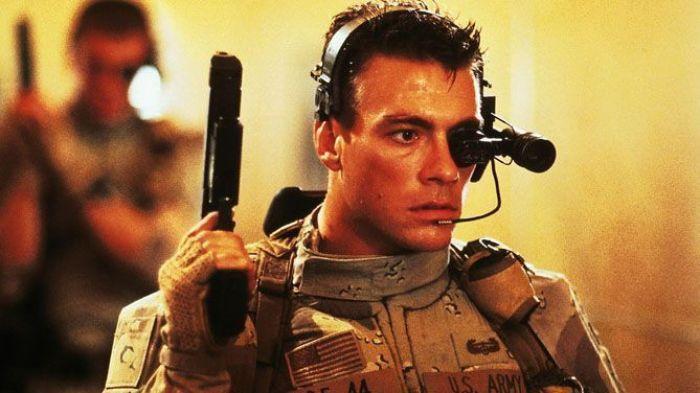 Jean-Claude Van Damme en Soldado Universal (1992)