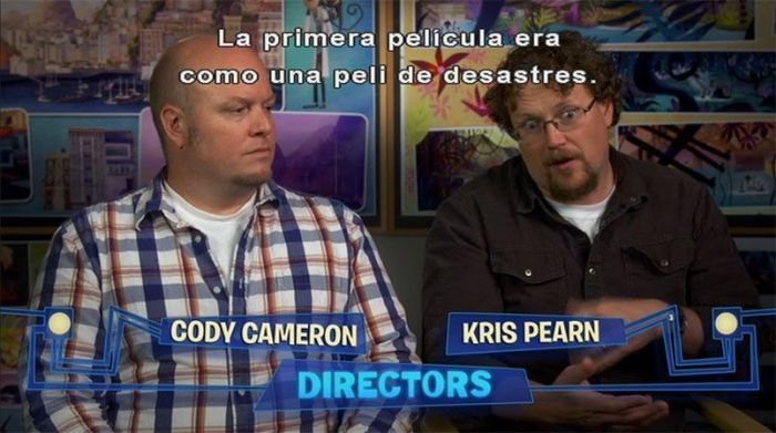 """Cody Cameron y Kris Pearn directores de """"Lluvia de Albóndigas 2"""""""