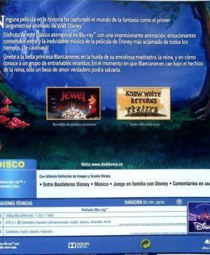"""""""Blancanieves y los siete enanitos"""" en Blu-Ray edición 2014"""