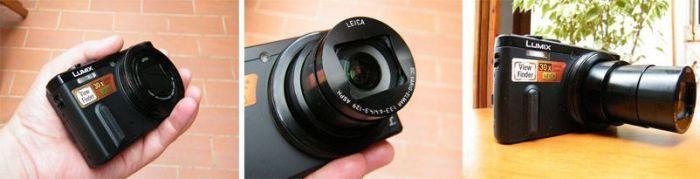 Panasonic LUMIX DMC-TZ60 con objetivo integrado de hasta 30 aumentos. Foto de Xavier Sastre Silvestre