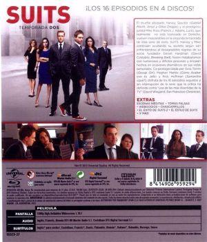 SUITS temporada 2 en Blu-Ray