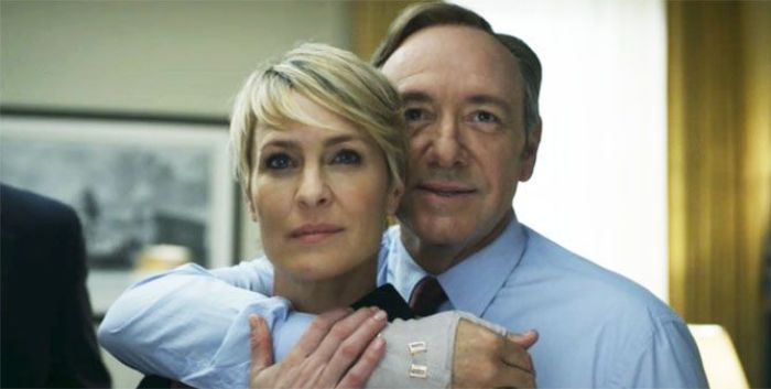 Kevin Spacey y Robin Wright en