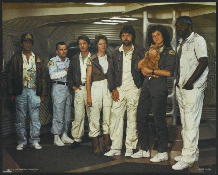 """Tripulación de la astronave Nostromo en """"Alien"""" (1979)"""