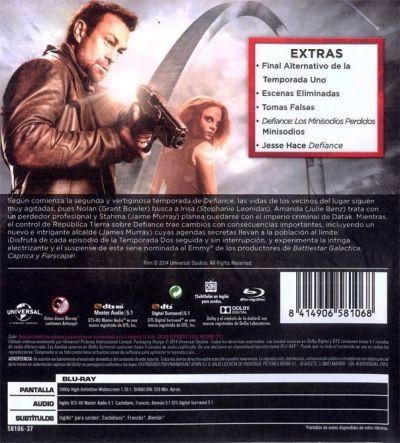 Defiance (temporada 2 en Blu-Ray)