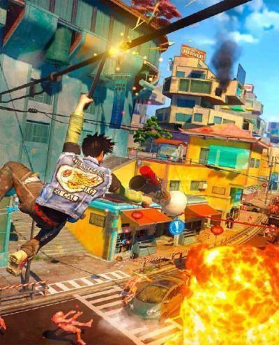 """SUNSET OVERDRIVE"" para XBOX ONE"