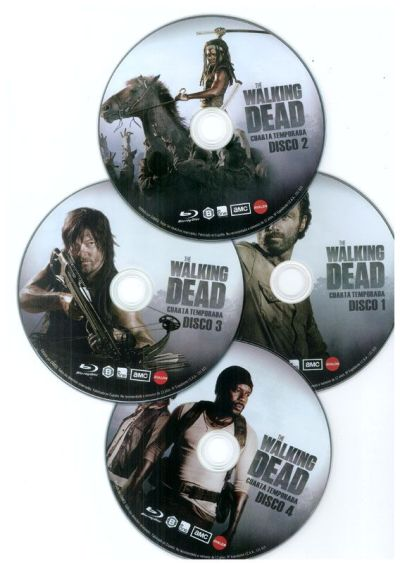 THE WALKING DEAD (temporada 4 en Blu-Ray)