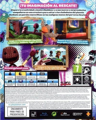 "Análisis de ""Little Big Planet 3"" en AudioVideoHD.com"