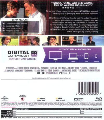 Boyhood (Blu-Ray, 2014) analizado en AudioVideoHD.com