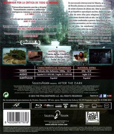 AFTER THE DARK (analizado Blu-Ray en AudioVideoHD.com)