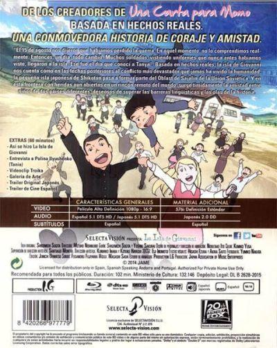 La isla de Giovanni (2014) analizado en AudioVideoHD.com