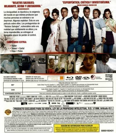 Relatos Salvajes (2014) analizada en AudioVideoHD.com