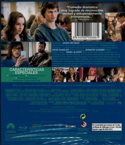 Hombres, Mujeres & Niños (Blu-Ray) AudioVideoHD.com