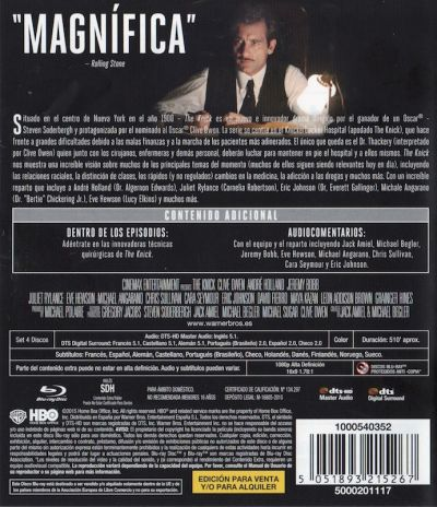 The Knick (Temporada 1) AudioVideoHD.com