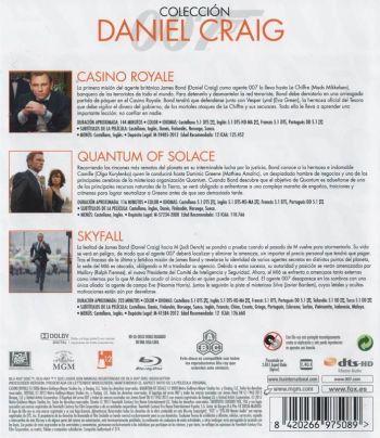 Colección Daniel Craig - Bond (2015) AudioVideoHD.com