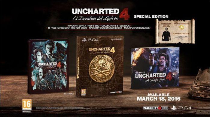 Uncharted 4 (marzo de 2016) AudioVideoHD.com