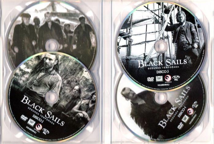 Black Sails. Temporada 2 en DVD. AudioVideoHD.com