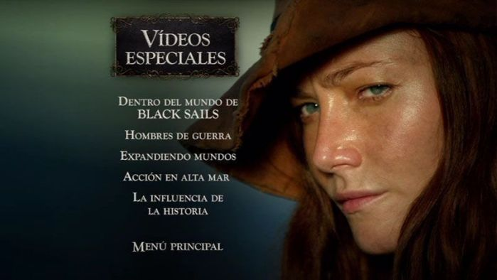 "Extras en ""Black Sails. Temporada 2 en DVD"". AudioVideoHD.com"