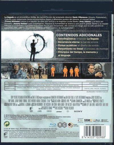 Arrival (2016) Análisis del Blu-Ray en AudioVideoHD.com