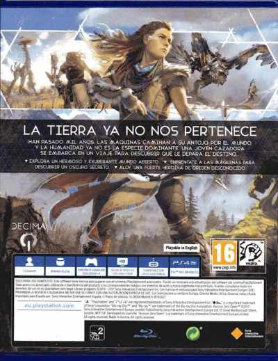 Horizon Zero Dawn (2017) análisis para PS4
