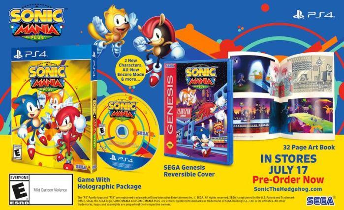 Sonic Mania Plus (2018) Reseña en AudioVideoHD.com