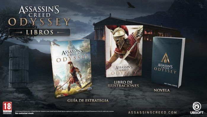 línea editorial de Assassin's Creed® Odyssey