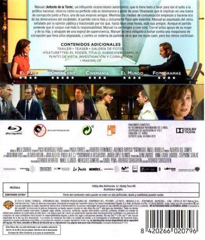 El Reino (2018) Blu-Ray analizado en AudioVideoHD.com