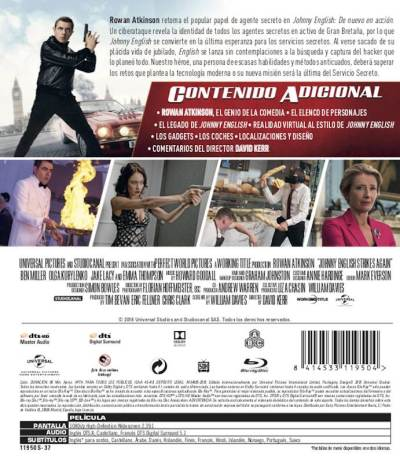 JOHNNY ENGLISH DE NUEVO EN ACCIÓN (2018) analizamos el Blu-Ray en AudioVideoHD.com