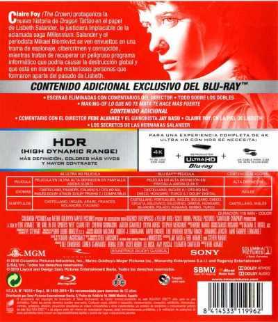 Millennium: Lo que no te mata te hace más fuerte (analizamos el UHD + Blu-Ray) AudioVideoHD.com