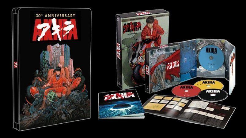 AKIRA Edición Metálica y A4 30 Aniversario - Analizada en AudioVideoHD.com