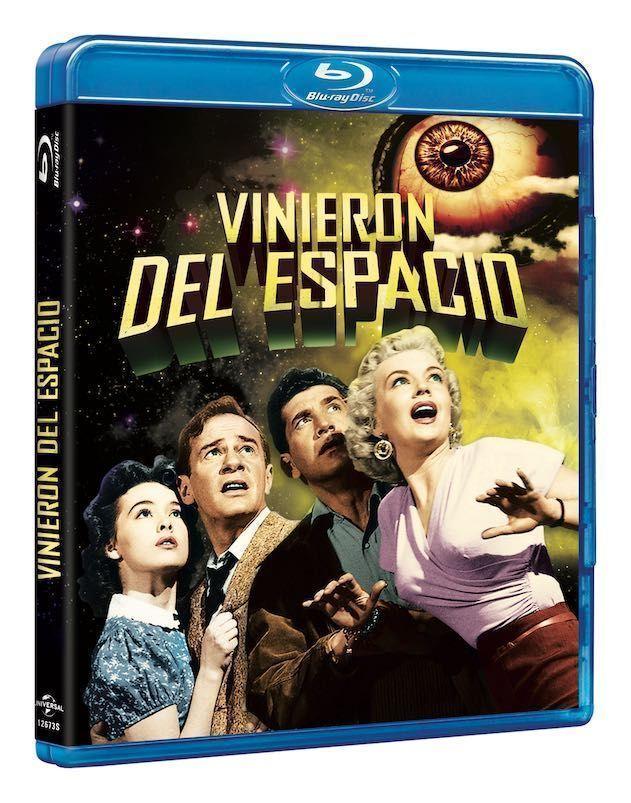 Blu-Ray - Vinieron del espacio - 1953