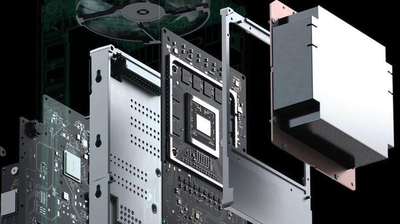 Procesador de la nueva Xbox Series X