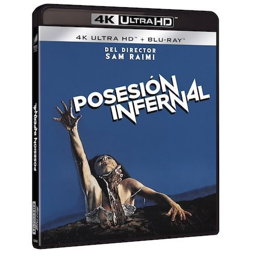 Posesión infernal (1982) en UHD y Blu-Ray