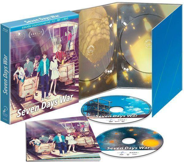 Seven Days War - Edición Coleccionista en Blu-Ray y DVD