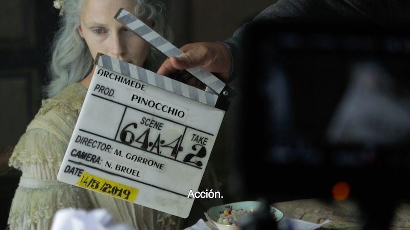 Pinocho (2019) Making Of